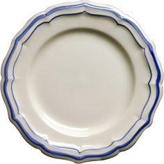Filets Bleus Dinner Plate from Gien
