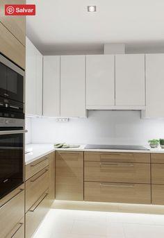 Kitchen Design Open, Best Kitchen Designs, Kitchen Layout, Interior Design Kitchen, Kitchen Ideas, Diy Kitchen, Kitchen Inspiration, Kitchen Hacks, Kitchen Sink