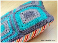 Crochet on a pillow