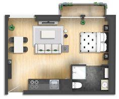 Floor plan rendering by TALENS3D on DeviantArt