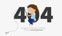 404 page of Lissa Sleeckx