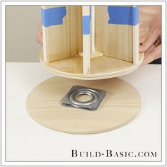 DIY Desk Supplies Lazy Susan by Build Basic - Step 18 Best Picture For spring decor For Your Taste You are looking for something, and it is going to t.