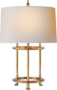 Beau Visual Comfort Table Lamp, Contemporary Table Lamp, Small Jayson Table Lamp