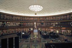 ストックホルム市立図書館(スウェーデン)