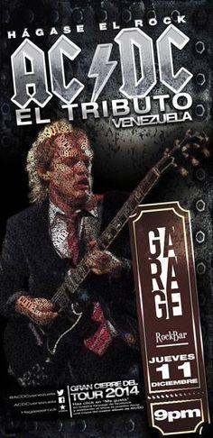 Cresta Metálica Producciones » Hagase el Rock AC/DC EL TRIBUTO VENEZUELA Cierre de GIRA NACIONAL 2014 en Mérida