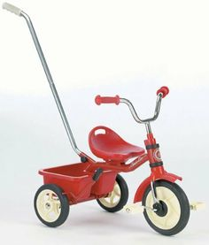 Italtrike Passenger Classic (Red) by Italtrike. $91.53. Italtrike Passenger Classic tricycle is a classically styled tricycle that features a removable push bar, molded adjustable contoured seat and soft rubber grips. The brake on the rear wheel of the Italtrike Passenger Classic tricycle provides added safety and the storage bin provides a great place for toys and accessories. The solid rubber wheels provide a smooth, quiet ride. The Italtrike Passenger Classic tricyc...