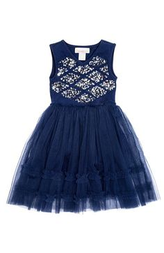 Masalababy 'Sophia' Sequin & Tulle Dress (Toddler Girls, Little Girls & Big Girls) available at #Nordstrom