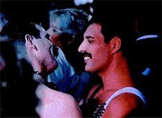 Bohemian Rhapsody Freddie and Jim Queen Freddie Mercury, John Deacon, I Am A Queen, Save The Queen, Joey Tribbiani, Freedy Mercury, Bryan May, Impression Poster, For All My Life