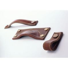 turnstyle designs - various leather handle / cup pull / strap options
