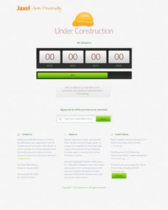 Jaxel under construction by Sheikh Naveed, via Behance