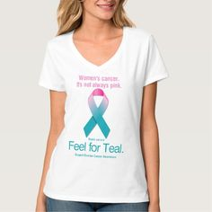 Women's Cancer. It's not always pink. T-shirts