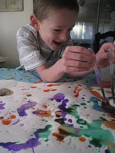 Artist Study - Jackson Pollock ~ Teach Beside Me