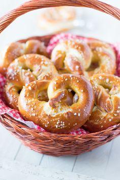 Les fabuleux et célèbres bretzels, confectionnés avec du levain !