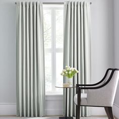 Skyline Grommet Window Curtain Panels For The Family Room Dining Room