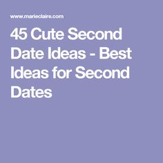 Second date questions