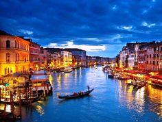 Venice Italy Gondolas Canals Romantic Satin Chrome Plated Metal Money Clip