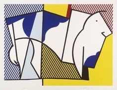 Roy Lichtenstein - Bull III- 1973 © Estate of Roy Lichtenstein/DACS 2014