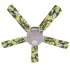 Ceiling Fan Designers Freedom Camo Military Indoor Ceiling Fan -