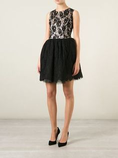 Loyd/Ford Floral Lace LBD.