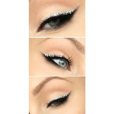 Purple Eyeliner ❤ liked on Polyvore featuring beauty products, makeup, eye makeup, eyeliner and eyes