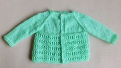 Jasmine Baby Jacket | The only knit baby cardigan your little one needs this summer.