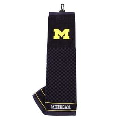 University of Michigan Wolverines Embroidered Golf Towel