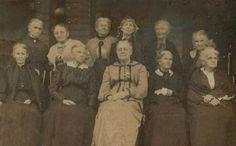 Texas pioneer gals.  Paris, circa 1900. Paris Home, Texas, Texas Travel