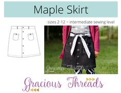 Maple Skirt by Gracious Threads