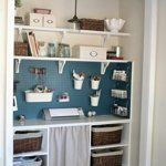 Craft Closet Makeover from Beneath My Heart