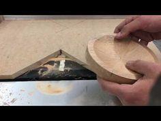 Como hacer platos de madera sin usar el torno - YouTube
