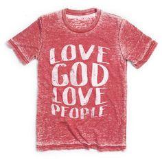 Love God Love People T-Shirt