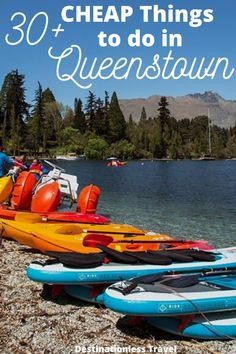 There are tons of fun FREE and cheap things to do in Queenstown! Here's how you can enjoy Queenstown without breaking the bank! Cheap Things To Do, Free Things To Do, Stuff To Do, Queenstown New Zealand, Packing For New Zealand, New Zealand Travel, Queenstown Activities, New Zealand Lakes