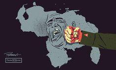 Estructura del ejercito de ocupación cubano en Venezuela