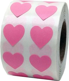 These tiny pink heart shape stickers come adhesive labels to a roll. Re-adjustable adhesive and safe for clothes. Heart Stickers are great for teachers, wedding invitation seals, scrap-booking and Valentines day. Valentine Heart, Valentines Day, Homemade Valentines, Valentine Wreath, Valentine Ideas, Valentine Crafts, Cookie Run, Everything Pink, Pink Aesthetic