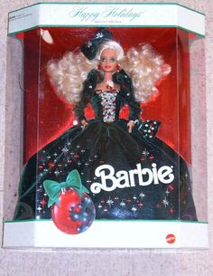 1989 Holiday Barbie I own this one!