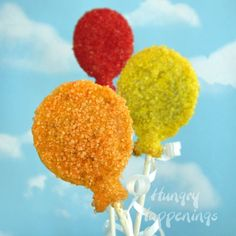 Hungry Happenings: Birthday Party Balloon Pastry Pops