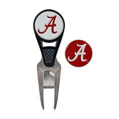 Collegiate CVX Ball Mark Repair Tool & 2 Ball Markers - http://golfforchampions.com/collegiate-cvx-ball-mark-repair-tool-2-ball-markers/