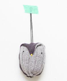 DIY sock owlie