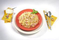 Rezepte für Kinder - Deftige Hauptgerichte: Spaghetti Carbonara