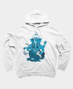 Ganesha Rocks! Pullover by @savousepate on DBH (various colours) #sweatshirt #hoodie #ganesh #ganesha #ganapati #vinayaka