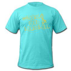 ... die wichtigen Dinge im Leben ... Klassisch geschnittenes T-Shirt für Männer