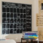 Chalk Calendar Wall Decal helps to keep track of school and UO events