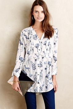 Fauna Tunic #anthropologie