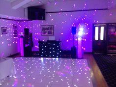 Set up at Kimberly. & Michaels wedding disco 06/07/14 www.alsdiscokaraoke.co.uk