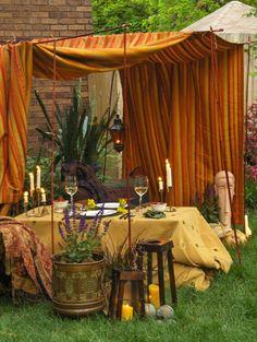Fantastic spot for a garden party...