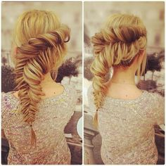 Split Fishtail - Hairstyles How To