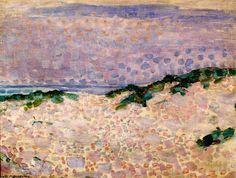 Duinstudie, Piet Mondriaan, 1909