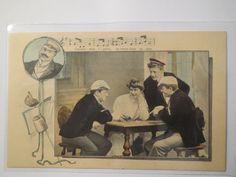 Liedkarte Gaudeamus Igitur Juvenes DUM Sumus 1912 Studentika | eBay
