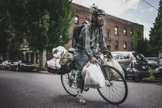 Now this is bike packing !