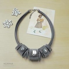 Elegant Zipper Necklace  Zipper Jewelry  Industrial Jewelry